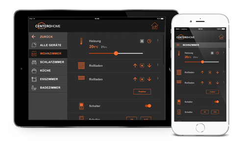 Haussteuerung per App mit Centero Home