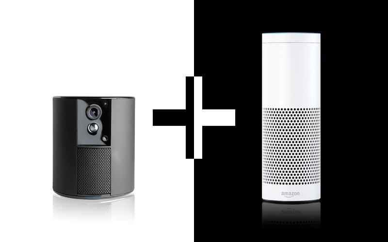 Somfy One vereint mit Amazon Echo