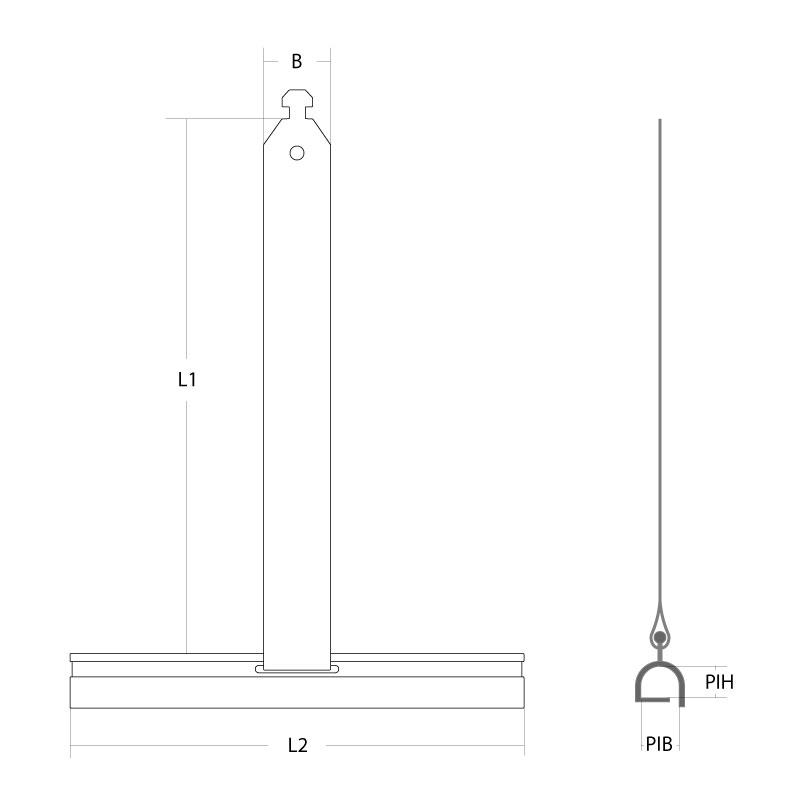 maxi aufh ngefeder aluminium federstahl st rke 0 25 mm l nge 190 mm diwaro. Black Bedroom Furniture Sets. Home Design Ideas