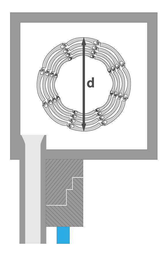 kunststoff rolladen 52 x 14 mm modell berlin diwaro. Black Bedroom Furniture Sets. Home Design Ideas