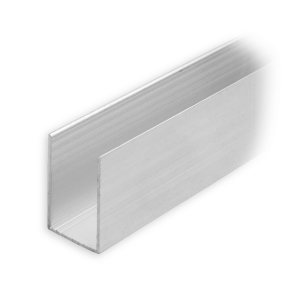 maxi aluminium f hrungsschiene 30 x 19 x 30 mm pressblank diwaro. Black Bedroom Furniture Sets. Home Design Ideas