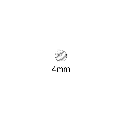 Moosgummi-Dichtung MG036 | schwarz | 5 lfm