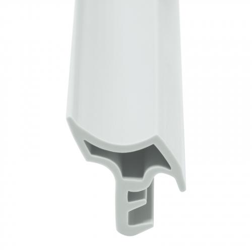 Türdichtung STD05 ab 5 Meter Gummidichtung weiß schwarz braun Zimmertürdichtung