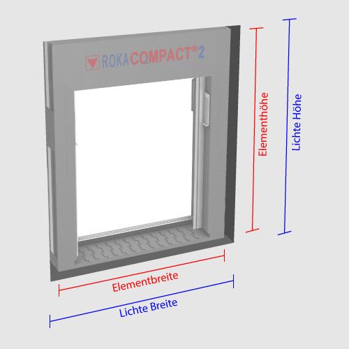 roka compact 2 screen mit textilem behang diwaro. Black Bedroom Furniture Sets. Home Design Ideas