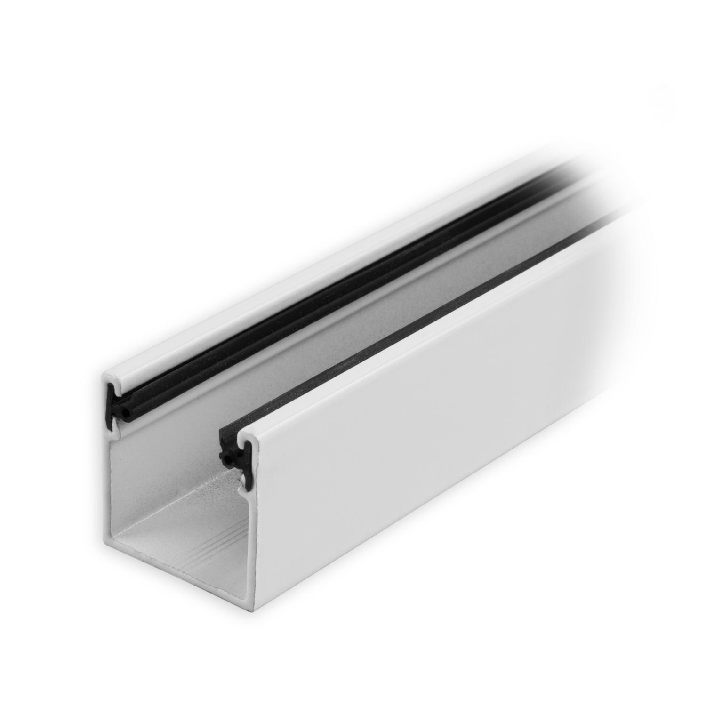 maxi aluminium f hrungsschiene 28 x 28 x 28 mm mit neopren einlage wei lackiert diwaro. Black Bedroom Furniture Sets. Home Design Ideas