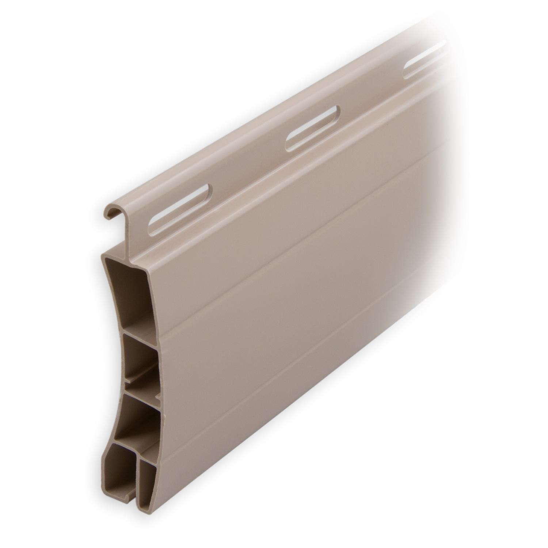 ersatzlamelle aus kunststoff pvc 50 x 14 mm beige l nge 900mm diwaro. Black Bedroom Furniture Sets. Home Design Ideas