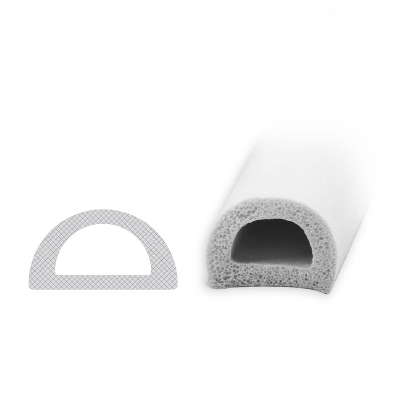 selbstklebende dichtung sk003 wei d profil diwaro. Black Bedroom Furniture Sets. Home Design Ideas