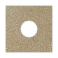 Spanplatte zur Verstärkung von Rasterdecken | 125 mm Loch | Stärke 8mm