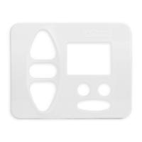 Abdeckplatte A-BA studioweiß | passend für Somfy Chronis Uno Smart, Chronis Uno easy