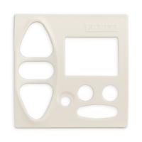 Abdeckplatte B-GI cremeweiß matt | passend für Somfy Chronis Uno L comfort, Chronis IB L comfort