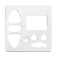 Abdeckplatte B-GI polarweiß hochglanz | passend für Somfy Chronis Uno L comfort, Chronis IB L comfort