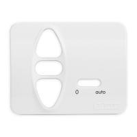 Abdeckplatte D-BA studioweiß | passend für Somfy Chronis Uno RTS / VB, Centralis comfort