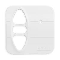 Abdeckplatte H-SI studioweiß matt | passend für Somfy Inis Uno comfort, Inis Uno comfort VB