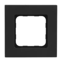 Abdeckrahmen Black (schwarz) | passend für Smoove Schalter, Taster & Wandsender