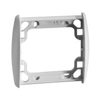 Abdeckrahmen inteo grau | 1-fach | passend für Somfy Schalter, Taster, Zeitschaltuhren