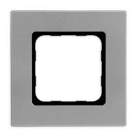 Abdeckrahmen Silver Mat (silber matt) | passend für Smoove Schalter, Taster & Wandsender