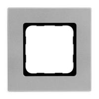 Abdeckrahmen Silver (silber) | passend für Smoove Schalter, Taster & Wandsender