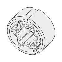 Adapter für Rundrohr 38x1 / 40x2 | für Becker Antriebe Serie P