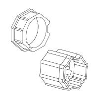 Adapter-Mitnehmer für Achtkant-Stahlwelle SW 60 | für Somfy Antriebe Baureihe 50