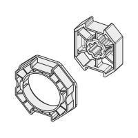 Adapter-Mitnehmer für Achtkant-Stahlwelle SW 70 | für Becker Antriebe Serie R
