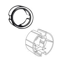 Adapter-Mitnehmer für Rundwelle mit Rundnut DS 85 | für Somfy Antriebe Baureihe 60