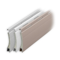 Aluminium Rolladen Muster-Lamellen | Modell Apollo | Deckbreite 37mm