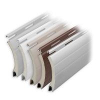 Aluminium Rolladen Muster-Lamellen | Modell Comet | Deckbreite 52mm | hartgeschäumt