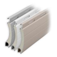 Aluminium Rolladen Muster-Lamellen | Modell Jupiter | Deckbreite 55mm | hartgeschäumt