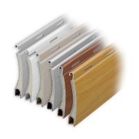 Aluminium Rolladen Muster-Lamellen | Modell Mars | Deckbreite 37mm | hartgeschäumt