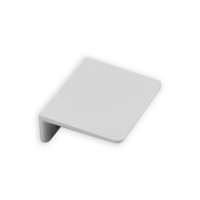 Anschlagwinkel Kunststoff | mit Verstärkungssteg | grau