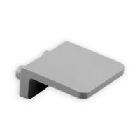 Anschlagwinkel Kunststoff | mit Zapfen | grau