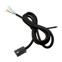 Anschluss-Kabel für Elero RevoLine Motoren - Länge 3 m | steckbar | schwarz