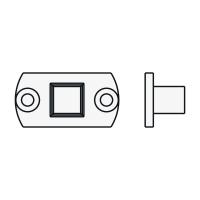 Anschlussteil 10 mm Vierkant Small | passend für Antriebe der Serie Small