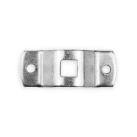 Antriebslager 10 mm |  Vierkant  | gekröpft | 2-fach Bohrung | passend für Antriebe der Serie Small