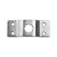 Antriebslager 16 mm Stern-Loch 4-fach Bohrung | gekröpft | für Rademacher RTBL Antriebe