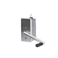 ARGA Unterputz-Sicherheits-Seilwinde B50 | 50 kg Tragkraft
