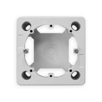 Aufputzgehäuse | 1-Fach | passend für GIRA 55 System | ultraweiß