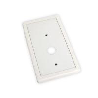 Blende aus Kunststoff in weiß | für Seilwinde Typ B von Cherubini