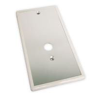 Blende aus Kunststoff in weiß | für Seilwinde Typ C von Cherubini