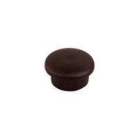 Bohrloch-Abdeckkappe | Ø 10 mm | Länge 5 mm | dunkelbraun
