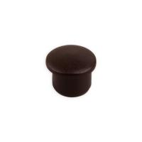 Bohrloch-Abdeckkappe | Ø 10 mm | Länge 8 mm | dunkelbraun