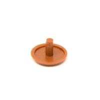 Bohrloch-Abdeckkappe | Ø 12 mm | Kupferbraun - RAL  8004