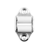Doppelleitrolle senkrecht | für 23 mm Gurtbreite | 45 mm Lochabstand | verzinkt