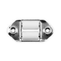 Doppelleitrolle waagerecht | für 23 mm Gurtbreite | 50 mm Lochabstand | verzinkt