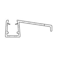 Duschdichtung DD029 | transparent | Länge 1000mm