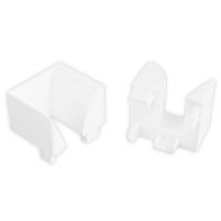 Einlauftrichter | für Kunststoff Rolladen-Führungsschienen 4047 | weiß