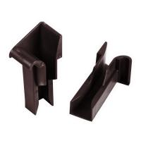Einlauftrichter für Mini Aluminium-Führungsschiene | 20 mm | braun