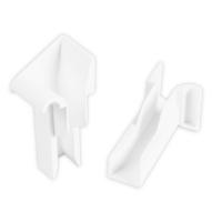 Einlauftrichter für Mini Aluminium-Führungsschiene | zum Einschieben | 18,5 mm | weiß
