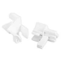 Einlauftrichter für Mini-Führungsschiene | für Blendenkappen an Vorbaurolladen | für Standard Profil | 16 mm | weiß