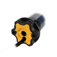 Elektronischer Mini Funk-Rohrmotor / Rolladenmotor Altus 40 RTS 4/14 | 4 Nm | Kabel 3m weiß